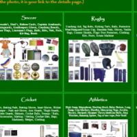 Sweetspot - sports equipment supplier