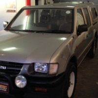 2000 Isuzu KB250 D, Silver with only 201141km,One Owner,Full Service History,