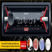 Sony cdx-g1150u mp3 with usb + FREE 8gig USB