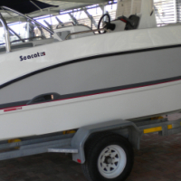 Used, Seacat 565 C/console with 2 x Yamaha 70HP Motors(Brand New -Display Model!) for sale  Pinetown