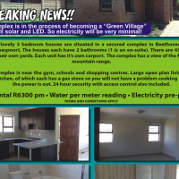 3 bedroom houses are situated in a secured complex in Beethoven Street, HARTBEESPOORT
