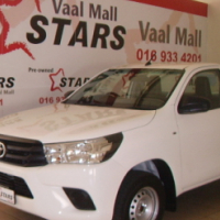 2016 White Toyota Hilux 2.4 GD 5MT Single Cab with 1100KM