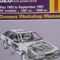 Mazda 626 (Fwd) - Owners Workshop Manual - Haynes - 929 - May 1983 To September 1987.