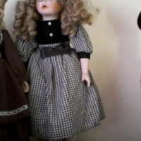 Porcelain dolls.Very old.36yrs old.