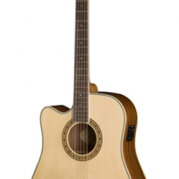 WASHBURN WD10SCELH  ACOUSTIC/ELECTRIC GUITAR LEFT HANDED