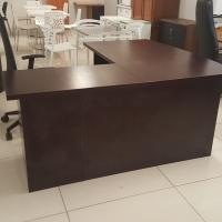 L-Shaped Mahogany Office Desks
