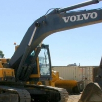 Excavators Volvo EC240B; Undercarriage 80%