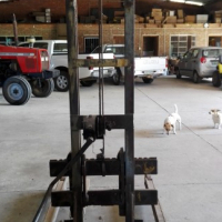 Hand Operated Forklift