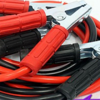Car Booster Jumpstarter Cable (600amp) - 4 meter length - copper plated grips