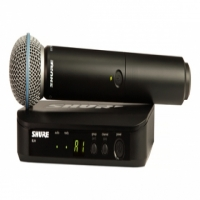 SHURE BLX24/BETA58 SINGLE HAND WIRELESS MIC SYSTEM
