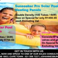 Solar Pool Heating Panels, Swimming Pool Heating, Pool Panels, October Specials
