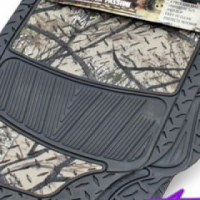 Shadow Camouflage Rubber Floor Mats
