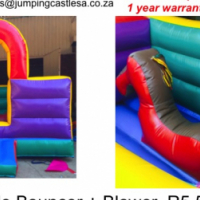 Jumping Castle - Joy Ride Bouncer 3m R5 500; 3.75m R6 500 + Blower