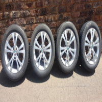 Mags/Alloy Wheels with Tyres. 215/55 R16.