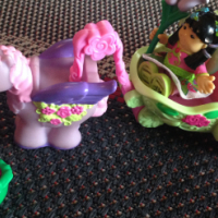 Fisher-Price Little People Princess Fairy Carriage with Pegasus Horse