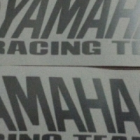Pair of Yamaha Racing Team decals stickers graphics, used for sale  Durban Central