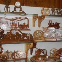 scrollsaw mini clocks