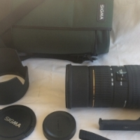 Canon and Sigma Camera Lenses