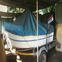 14ft Cabin cruiser boat