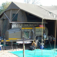 Camp Master Wilderness 500 off-road trailer with tent