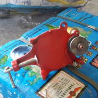 hand Grinder, truck mud flaps/door mat, gas/oil heater, thread