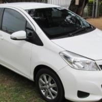 2012 Toyota Yaris 1.0XS T1 5-Door with Aircon