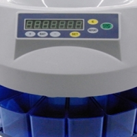 COIN COUNTER/SORTER AND NOTE COUNTERS WITH UV DETECTION