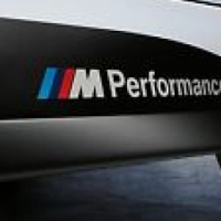 BMW side skirt stickers  M performance Motorsport