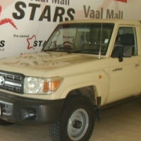 2009 Beige Toyota Land Cruiser 79 4.2 D Pick Up