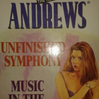 Unfinished Symphony Book 3 / Music In The Night Book 4 - Virginia Andrews - Logan Families Series.