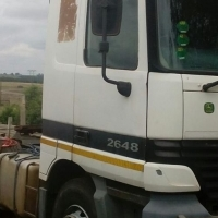 Benz Actros for sale at reduced price