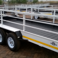 4.0m x 1.8m Double axle Trailer on  Special