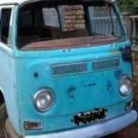 VW Kombi Low Light Bay Window.