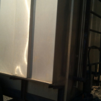 Harvester oil plants  collector steam trailer