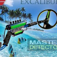 Minelab Excalibur II - Underwater & Beach Treasure Metal Detector