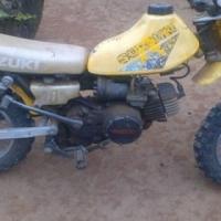Suzukie TS 50 bike