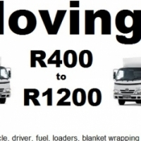 Furniture removals from R400 to R1400