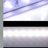 500mm or 1000mm LED 10000K LED light strip - perfect for fishtanks