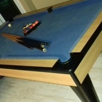 Pool table for sale.