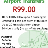 R99.00 Airport Transfers