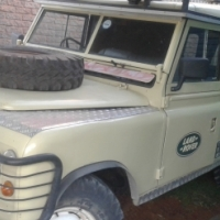 Land Rover Series 3 109 Pick Up (The vehicle is SOLD)
