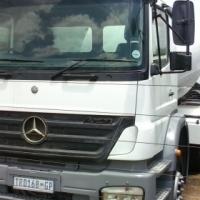 Mercedes Benz Axor Concrete Mixer
