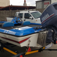 Pro Bass boat with 130hp YAMAHA Autolube outboard. for sale  South Africa