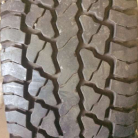 Aset of one New tyre 205R16 Tyres Continental Worldcontact 4x4