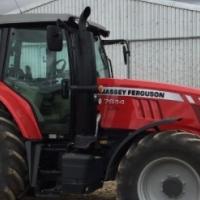2015 Massey Ferguson 7614 For sale