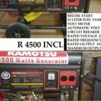 Special on Generators: Brand new imported generators for sale