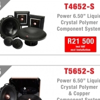 Rockford Fosgate Power Component Speakers