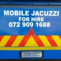 Mobile jacuzzi for hire