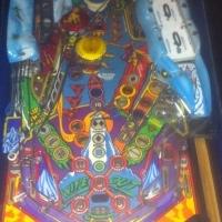 wipeout pinball machine