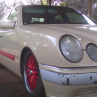 1997 Mercedes-benz E 320 unfinished project to swop
